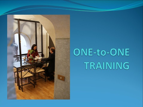 one to one training